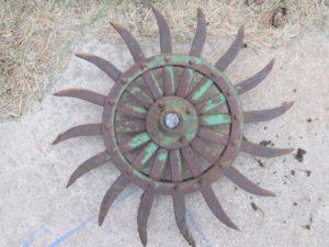 JD Rotary Metal Spike Cultivator Hoe Wheel